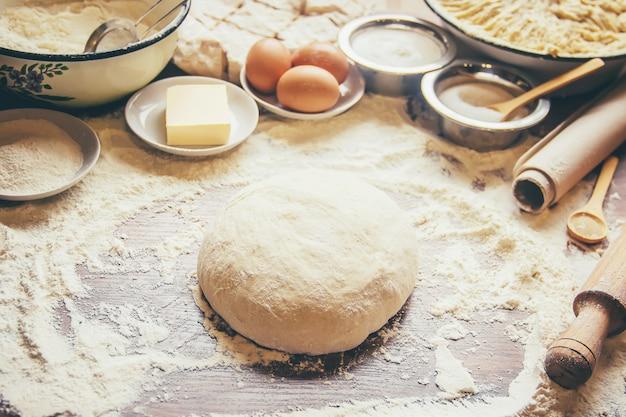 Pastelaria e conceito de cozinha