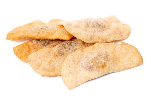 Pastelaria típica portuguesa de grão de bico ou batata doce