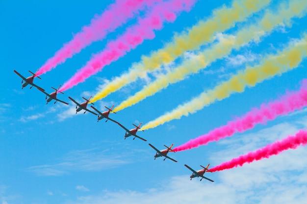 Patrulla aguila, equipe de demonstração acrobática da força aérea espanhola