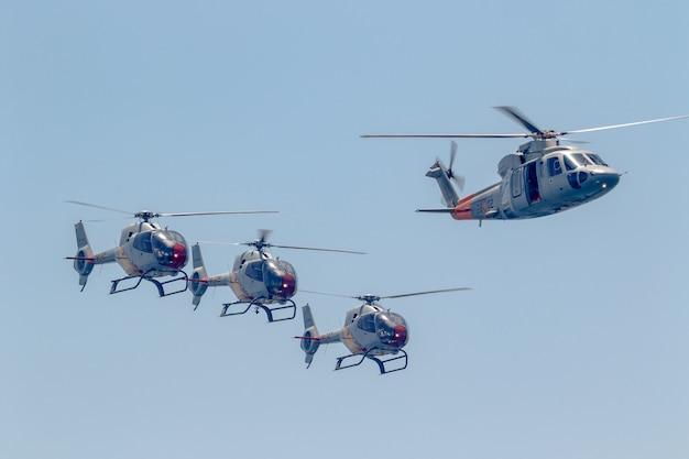 Patrulla aspa, helicóptero eurocopter