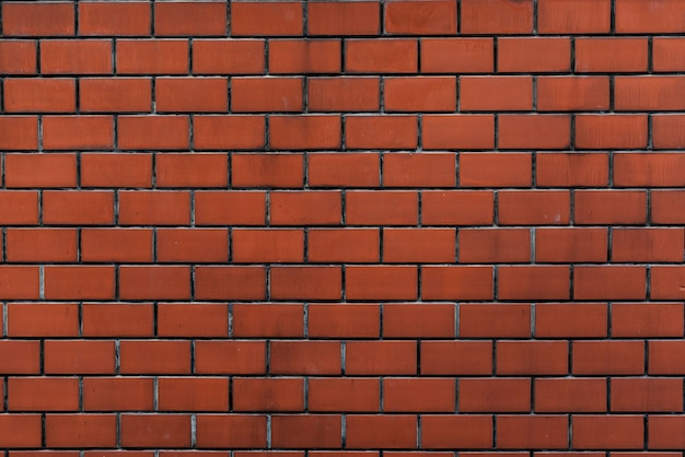 Patter de papel de parede laranja de parede de tijolo