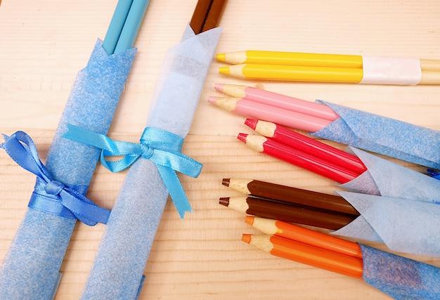 Pauzinhos de lápis