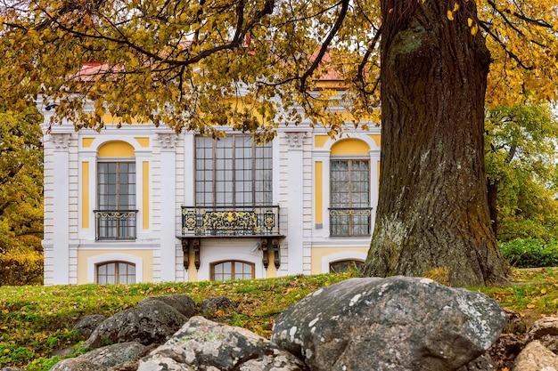 Pavilhão do hermitage peterhof são petersburgo
