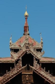 Pavilhão do sino de mingun, myanmar
