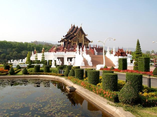 Pavilhão real, chiang mai, tailândia