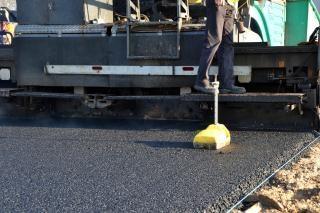 Pavimentação de asfalto