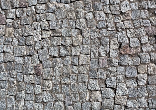 Pavimentação de granito