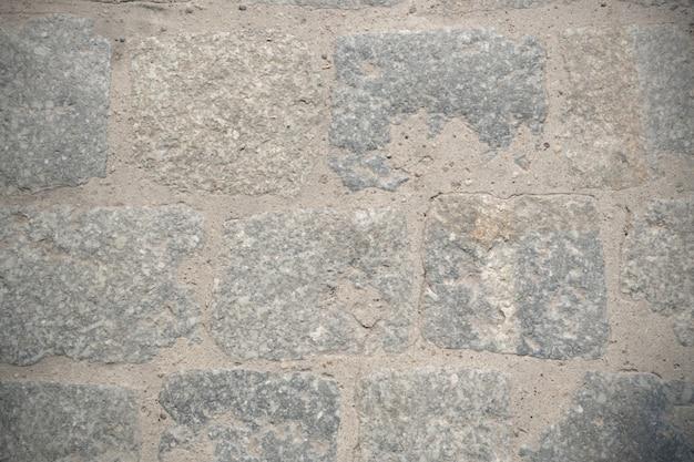 Pavimento de pedra velho