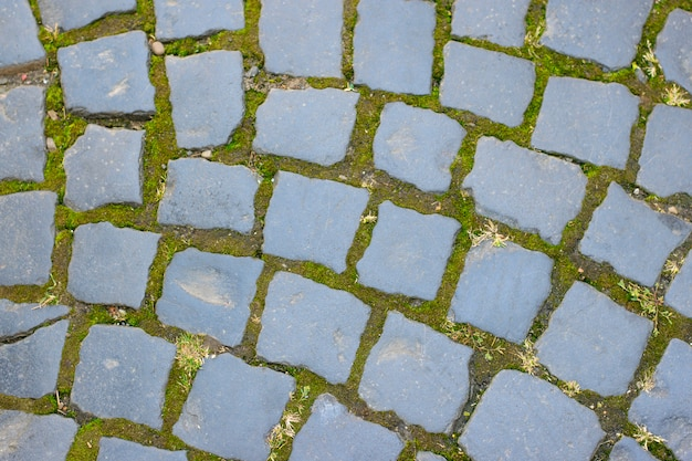 Pavimento em pedra de pavimentação