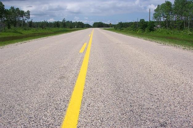 Pavimento unidade estrada em qualquer lugar
