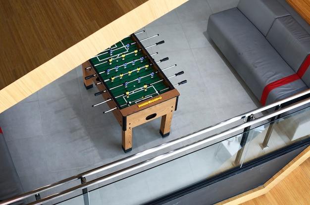 Pebolim futebol de mesa - recreação - lazer