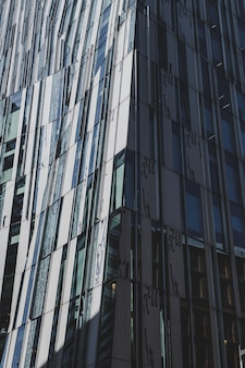 Peça de arquitetura alta artística moderna