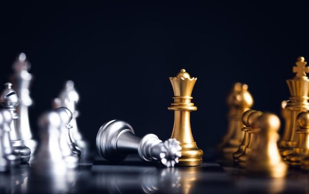 Peça de xadrez na frente do peão
