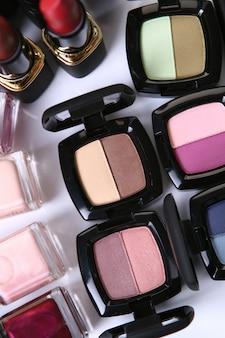 Peças cosméticas para beleza facial