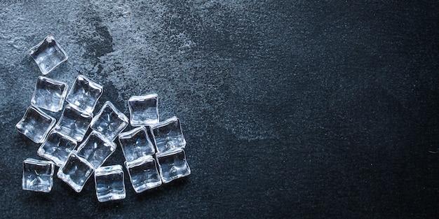 Peças de acrílico transparente de gelo artificial reutilizáveis de plástico