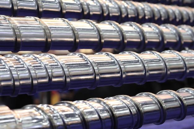 Peças de prensa de parafuso para máquina de injeção plástica