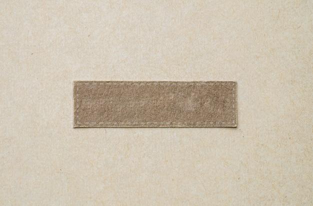 Pedaço de pano marrom