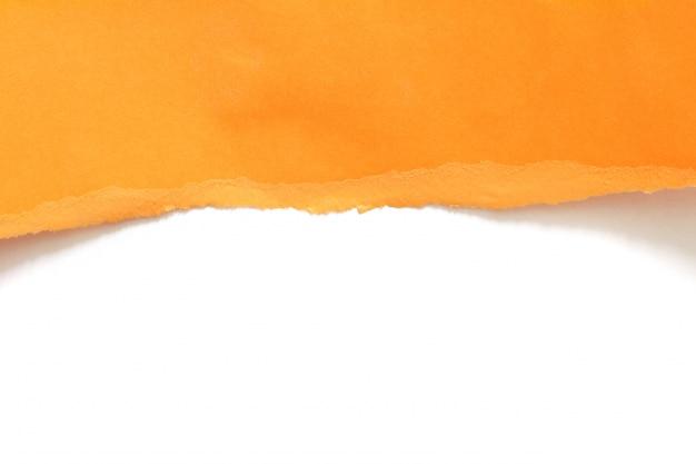 Pedaços de textura de papel rasgado