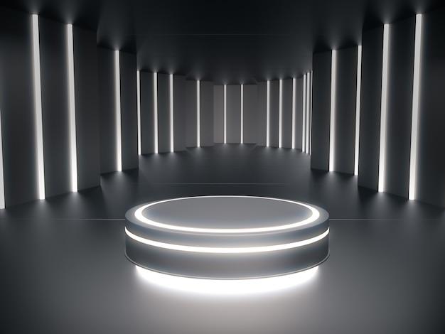 Pedestal para exibição