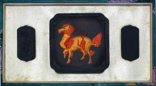 Pedra da tinta antiga chinesa conjunto