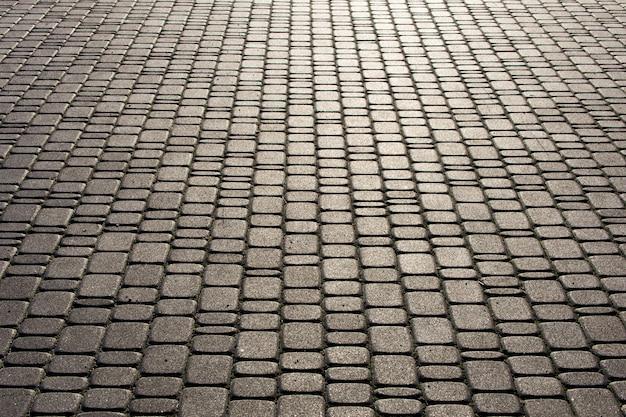 Pedra de pavimentação ao sol