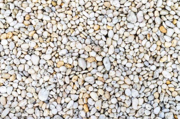 Pedra do rio natureza textura de fundo de pedra branca