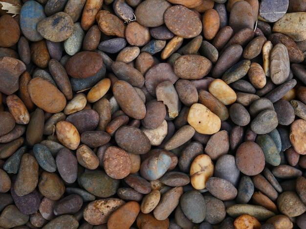 Pedra do seixo do close up