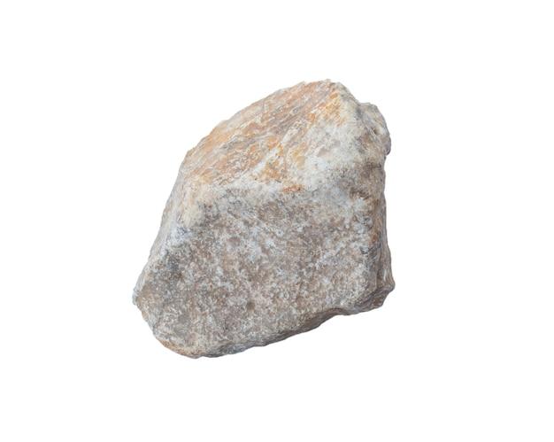 Pedra em um branco