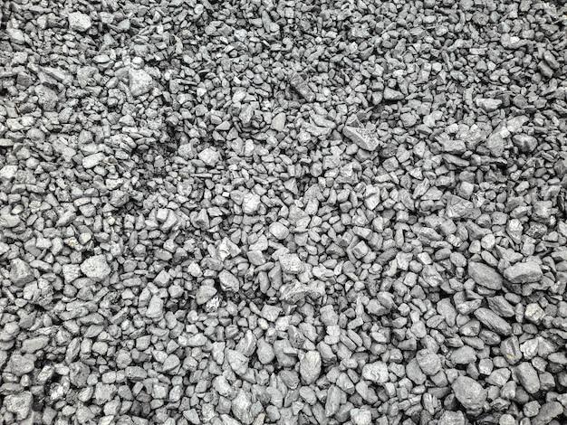 Pedra mineral de fundo preto de carvão