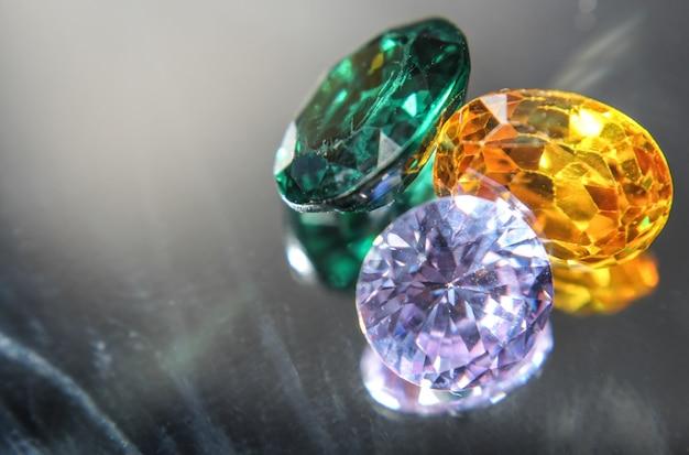 Pedra preciosa natural safira