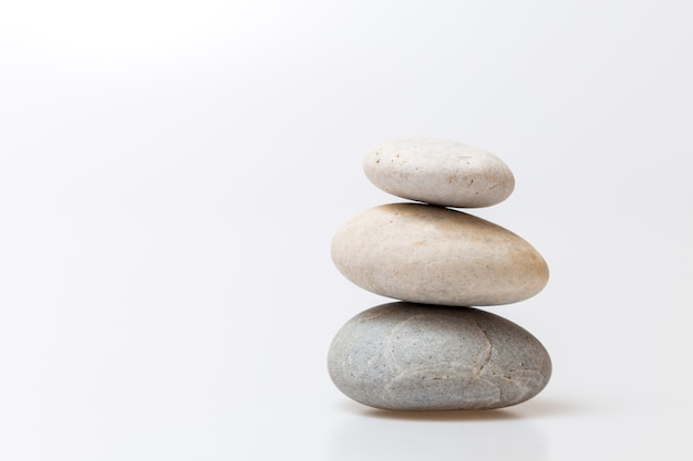 Pedra zen para plano de spa