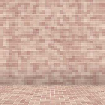 Pedras cerâmicas coloridas. abstract smooth brown mosiac texture abstrato mosaico cerâmico adornado edifício. teste padrão sem emenda abstrato.