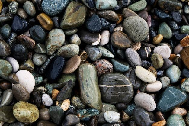 Pedras do mar de perto
