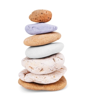 Pedras isoladas no fundo branco. pedra de rocha de granito grande, pedra .rock isolada no fundo branco