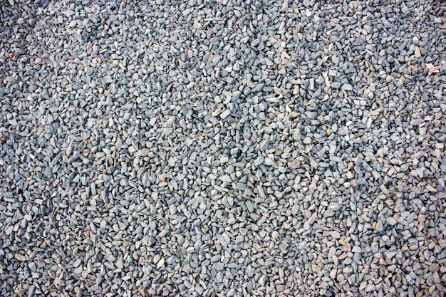 Pedras minúsculas, pedra esmagada