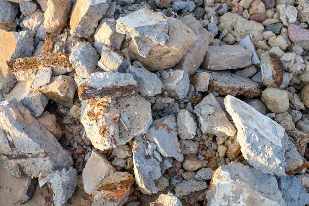 Pedras, textura de fundo de pedras de seixo, o fundo de pedra quebrada. foto de alta qualidade