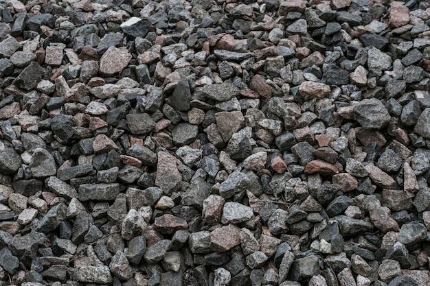 Pedras trituradas naturais