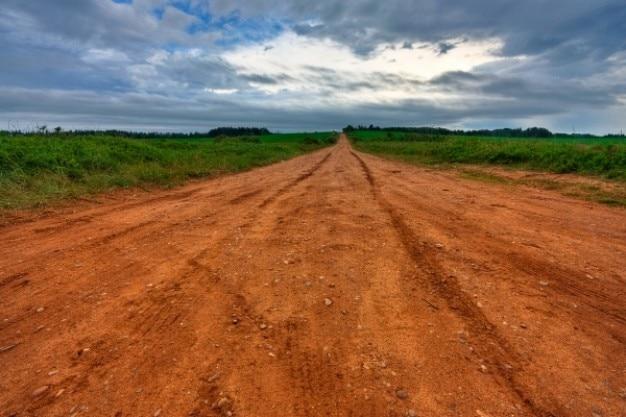Pei país estrada hdr