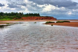 Pei praia paisagem hdr larga