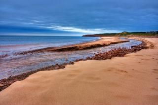 Pei praia paisagem hdr litoral