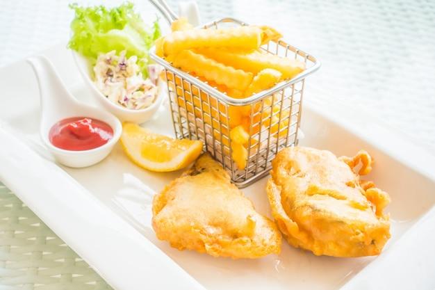Peixe e chip