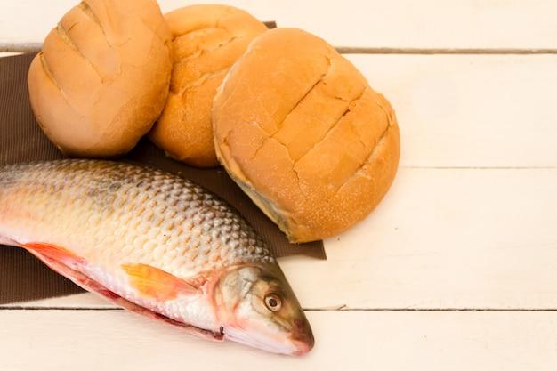 Peixe e pães