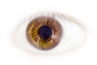 Pele, olhos