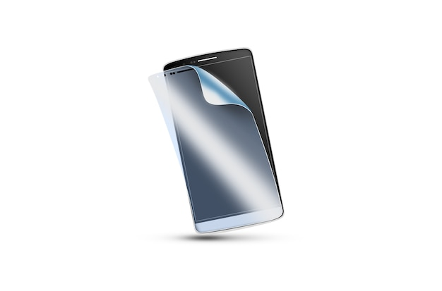 Película de protecção do telemóvel no ecrã