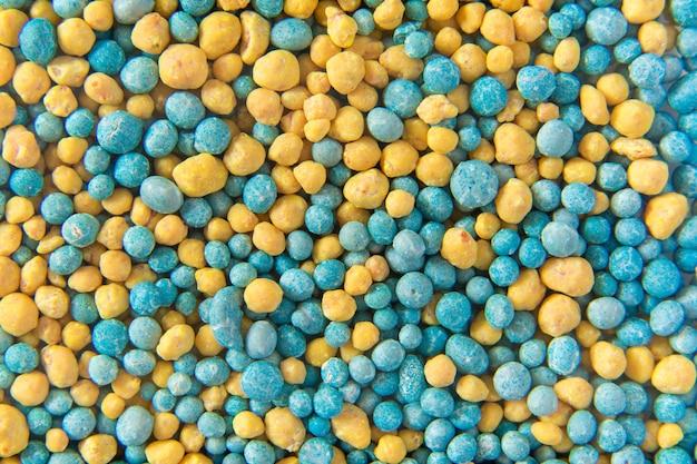 Pelotas de fertilizante
