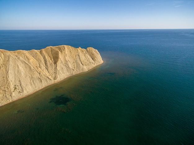 Península de camaleão na criméia