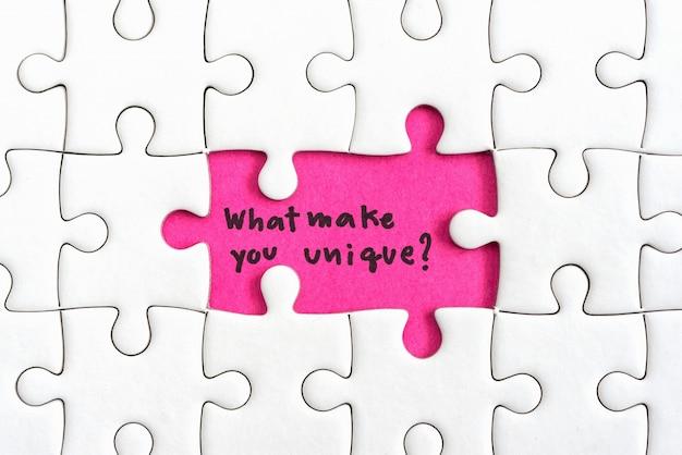 Pense conceito de negócio de diferença