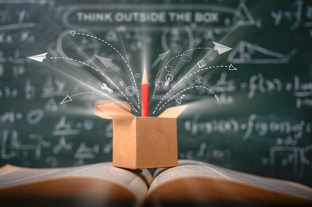 Pense fora da caixa na escola