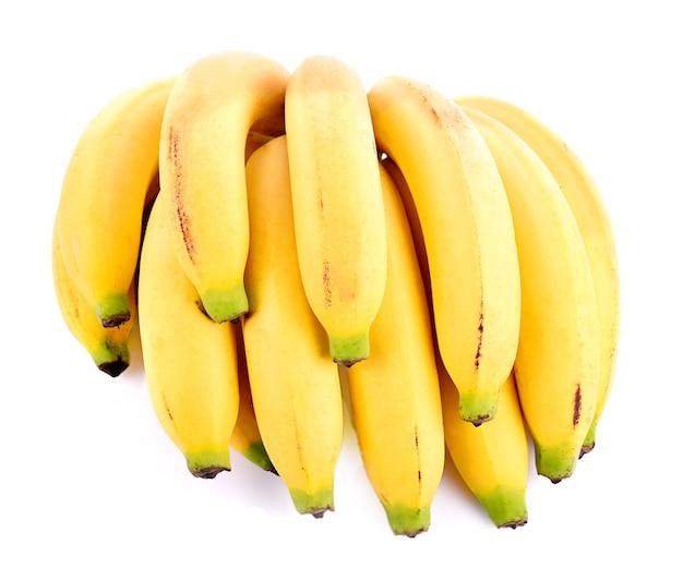 Pente de banana isolado no fundo branco