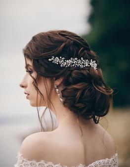 Penteado de casamento da noiva